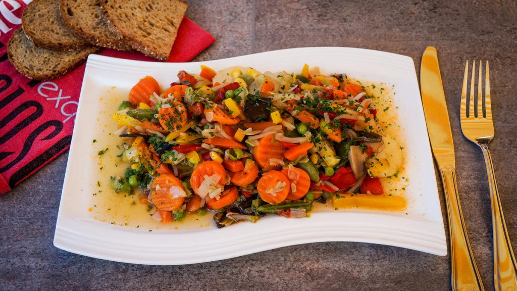 Gemüsemix mit Thai-Curry
